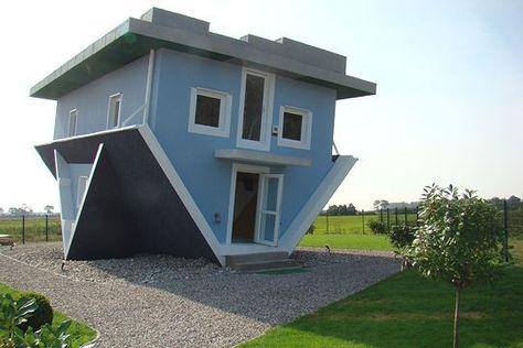 maison à l'envers
