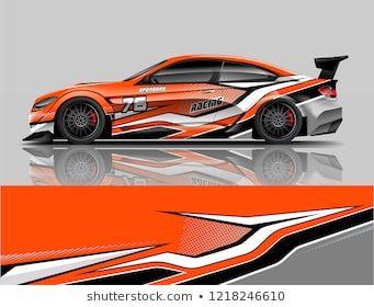 Sport Car Racing Car Wrap Livery Design | franjas autos