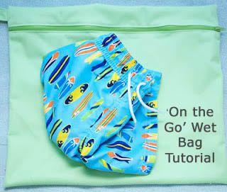 Handmade by Meg K: 'On the Go' Wet Bag Tutorial...
