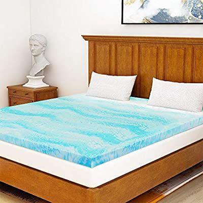 Milemont Mattress Topper Full 3 Inch Cool Swirl Gel Memory Foam Mattress Toppe Memory Foam Mattress Topper Foam Mattress Topper Memory Foam Topper