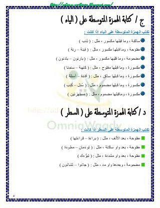 الإملاء 3ع Learn Arabic Alphabet Teach Arabic Learning Arabic