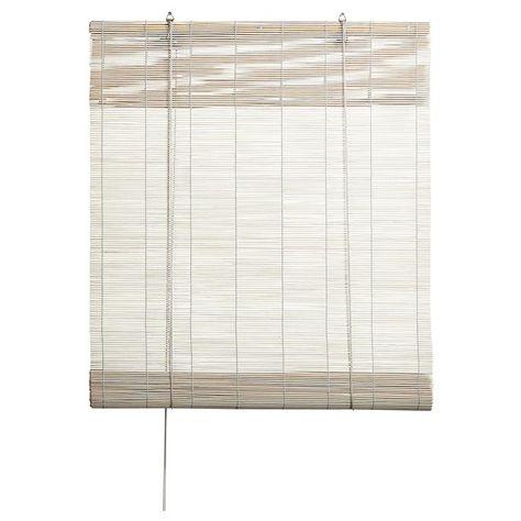 rolgordijn bamboe wit kwantum