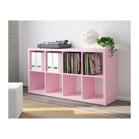 15 manières différentes d\'utiliser l\'étagère Kallax Ikea | Ikea ...