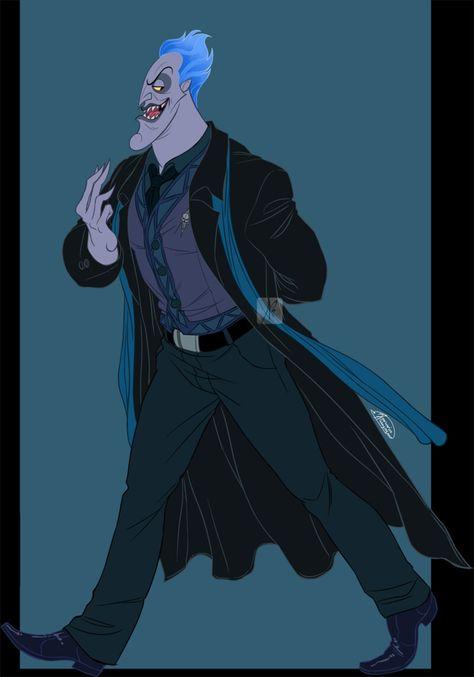 Disney Hercules_Hades_The Underlord, Anastasia Babekou