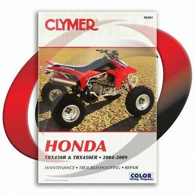 Sponsored Ebay 2004 2009 Honda Trx450er Repair Manual Clymer M201 Service Shop Garage In 2020 Clymer Repair Manuals Repair