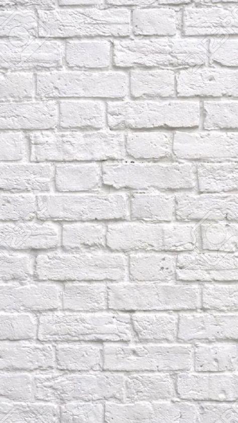 White Brick Wallpaper Iphone