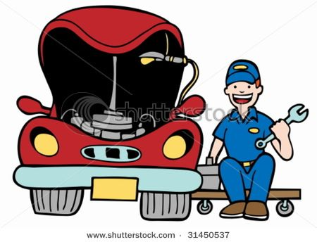 car mechanic vector clipart eps images 4 800 car mechanic clip rh pinterest com automotive repair clipart auto repair clipart black and white