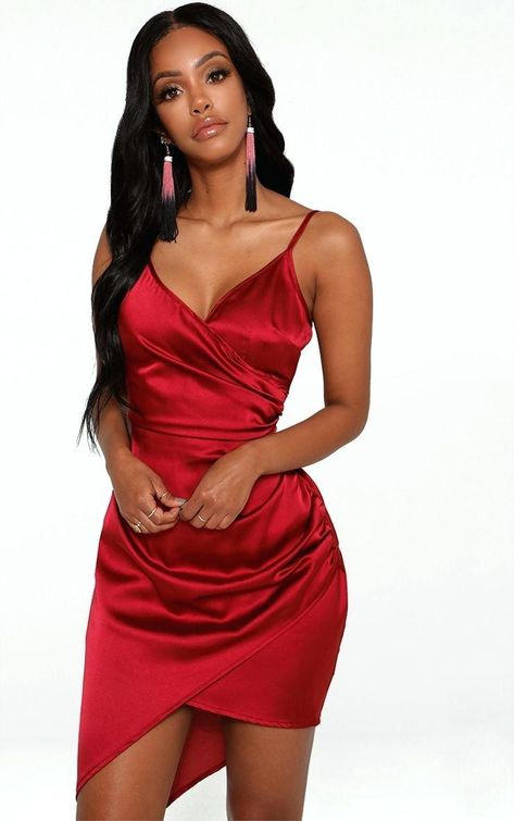 Burgundy Homecoming Dresses,Spaghetti Straps Graduation Dress,Sexy Dance Gown on Storenvy