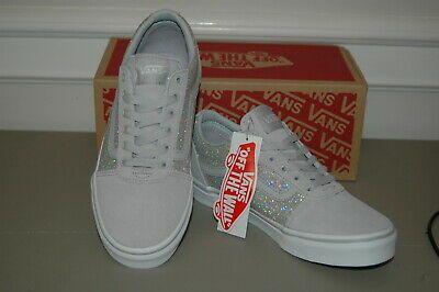 Sparkle Sneakers Shoes Old Skool Grey