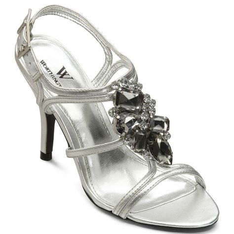 Homecoming shoes, Silver wedding shoes