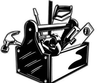 30+ Handyman Clipart Black And White