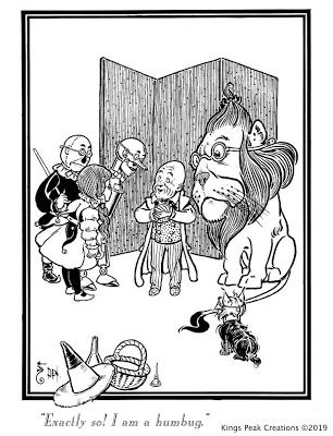 William Wallace Denslow Wizard Of Oz Coloring Book Pages