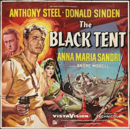 The Black Tent (1956) Stars: Donald Sinden, Anthony Steel, Anna ...