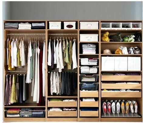 Image Result For Ikea Closet System New Capsule Wardrobe In 2019 Ikea Wardrobe Bedroom Wardrobe Bedroom Cupboards