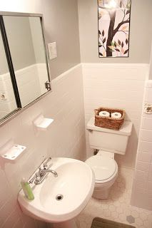My Old Kentucky House: Temporary Insanity  Painting Bathroom Tiles | Home |  Pinterest | Painting Bathroom Tiles, Bathroom Tiling And Kentucky