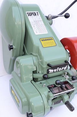 main view Myford Super 7 ML7 ML7R lathe for sale SK166237