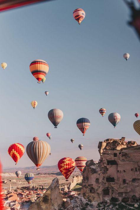 Hot Air Ballooning in Cappadocia, Turkey (SO MAGICAL!)  ADARAS