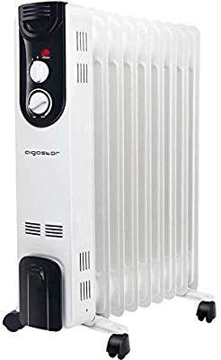 Thulos TH-RAC501 Mini Radiador de Aceite de 5 Elementos de Calor y 500W de Potencia.