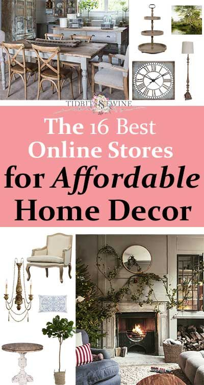 The 16 Best Online Stores For Affordable Home Decor In 2020 Home
