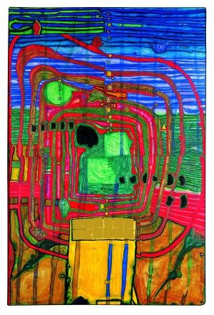 Kunst Haus Wien Das Museum Hundertwasser Art On Screen News In 2020 Kunst Ideen Hundertwasser Der Maler