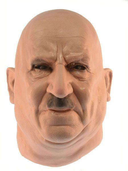 DALMATINER MENSCH Maske aus Schaumlatex Fasching