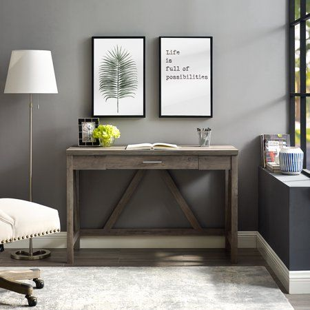 27++ Manor park rustic farmhouse computer writing desk with drawer type