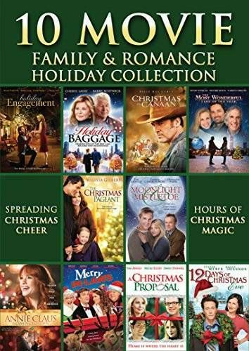 10 Movie Family Romance Holiday Collection Dvd Very Good Unbranded Holiday Movie Holiday Collection Christian Films