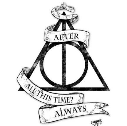Tattoo Harry Potter Deathly Hallows Always 55 Trendy Ideas Harry Potter Artwork Harry Potter Drawings Harry Potter Tattoos