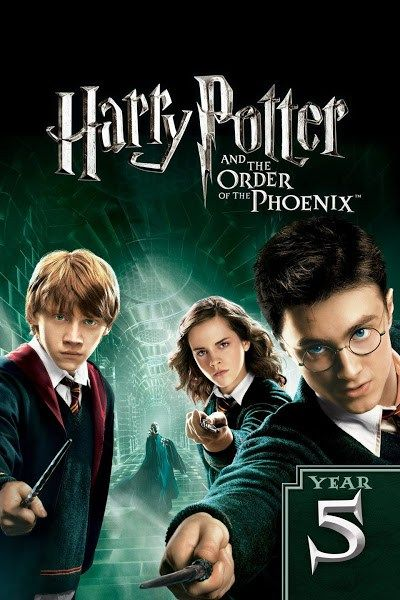 Harry Potter and the Order of the Phoenix | Harry potter parts, Harry  potter free, Harry potter full movie