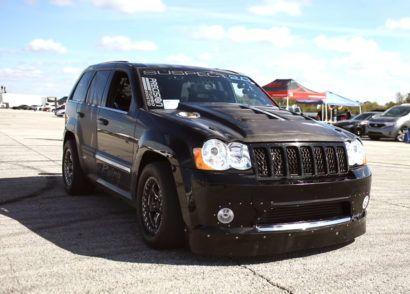 Demonized Drag Rocket Jeep Cherokee Hemi V8 1600 Hp 68 Ford