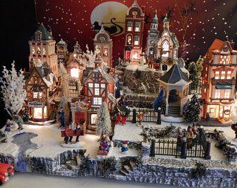 Pin On Christmas Village Display