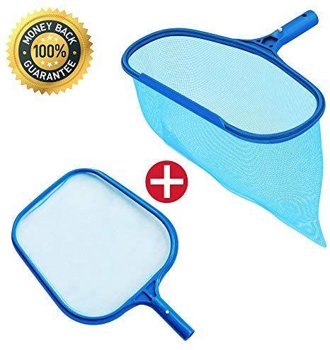 Katevo Fine Mesh Pool Net Professional Pool Skimmer Swimming Pool Leaf Net For Cleaning Pool Rake Pool Cleaning In 2020 Pool Cleaning Supplies Pool Nets Pool Skimmer