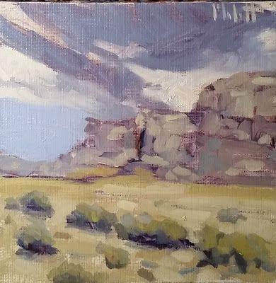Southwest Desert Art Landscape Oil Painting Heidi Malott Oil Painting Landscape Desert Art Original Fine Art