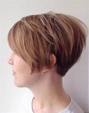 Front Back View Short Pixie Haircuts With Tapered Neck Bing Thin Hair Haircuts Pixie Haircut Thin Hair Short Hair Styles
