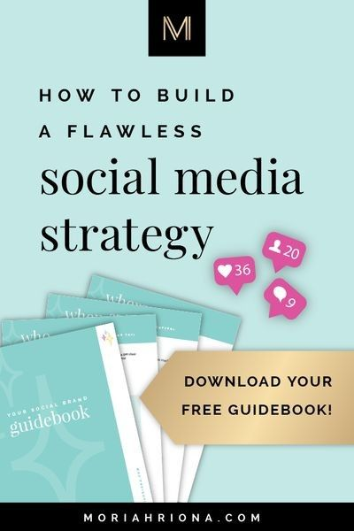 Social Media Marketing Workbook | Moriah Riona Branding | Colorado Springs