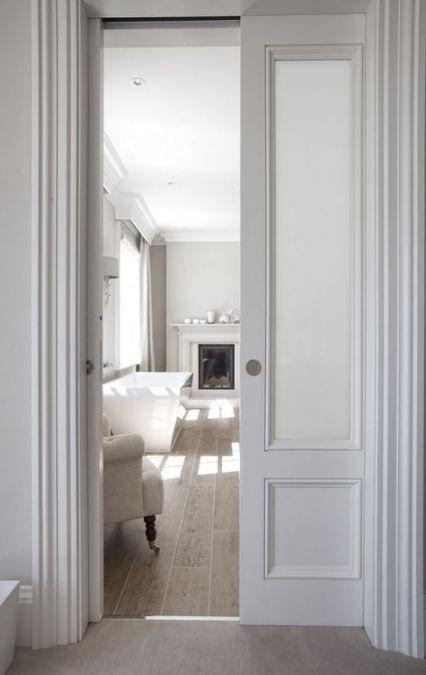 47 New Ideas For Sliding Barn Door Bathroom Interior Design Bedroom Door Design Pocket Doors Bathroom Glass Pocket Doors