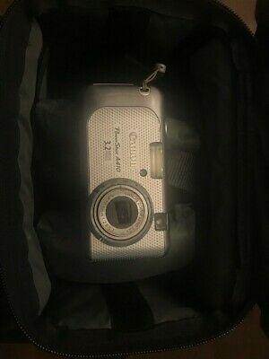 Canon Powershot A410 3 2mp Digital Camera Silver Digital Camera Powershot Canon Powershot