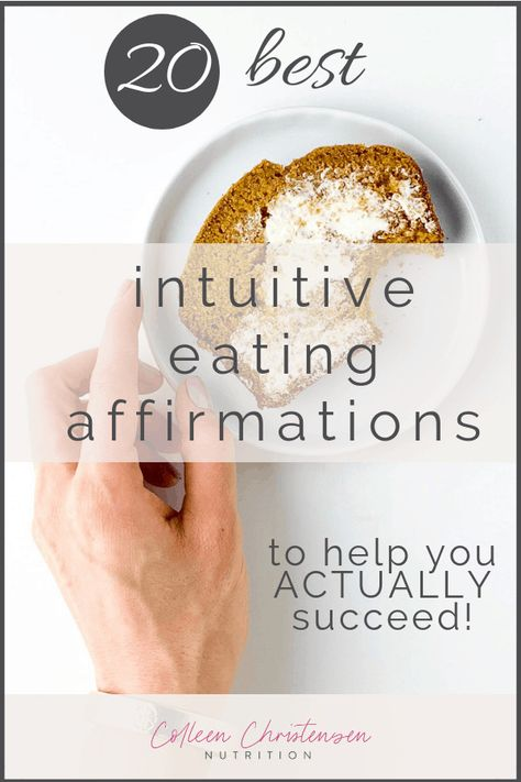 intuitive eating affirmations