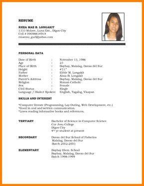 Pin By Senthil Murugan On Resume Format Simple Resume Format Job Resume Format Best Resume Format