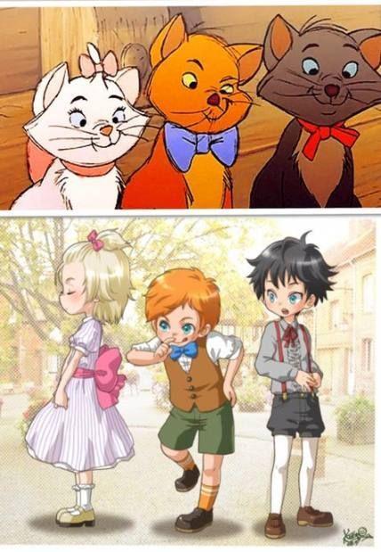 Super Drawing Cartoon Animals Disney Characters Anime Version