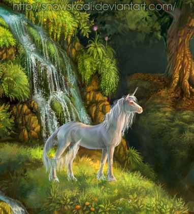 Unicorn by SnowSkadi.deviantart