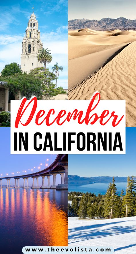 10 Amazing Places to Visit in California in December