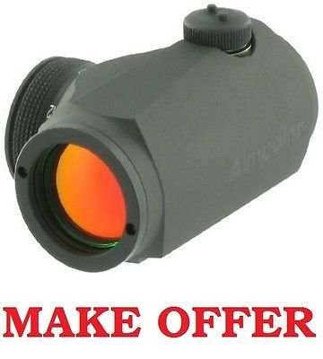 615 00 Gt New Aimpoint Micro T 1 T1 2moa No Mount Red Dot Sight