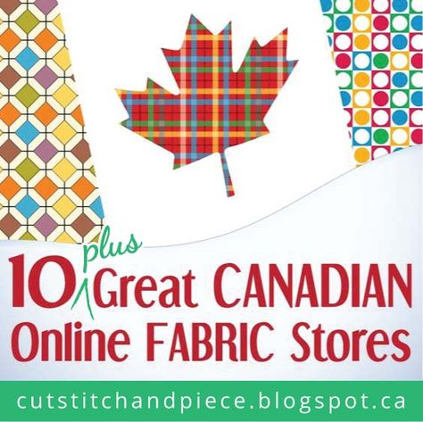 10 Great Canadian Online Fabric Stores