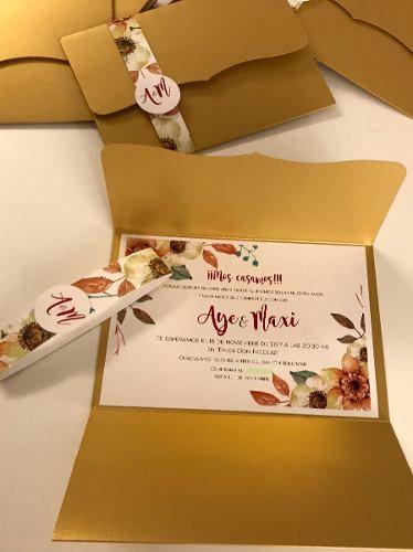 Invitaciones Casamiento Tarjetas Quince Años 30 00 En