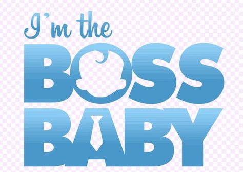 Boss Baby Logo Png Boy Boss Baby Svg Baby Boy Birthday Vector