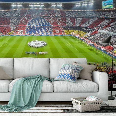Tapete Bayern Munchen Tapeten Fototapete Und Einrichtung