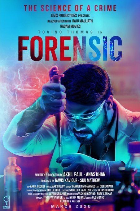 Forensic 2020 Great Movie Imdb 6 6 In 2020 Movies Malayalam Bollywood Movies Online Forensics