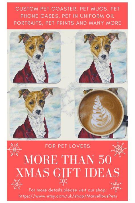 Jack Russell Puppy Mug and coaster set High Quality  SH