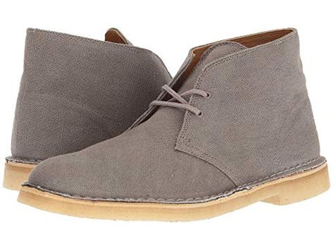 CLARKS , TAUPE CANVAS. #clarks #shoes